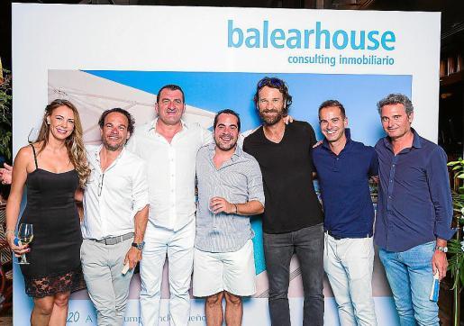 Nathalie Sorondo, Toni García Ruiz, Jesús Calvo, Alberto Torrens, Carlos Moyá, Juan Serra y Marcos Nicolau.