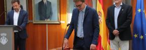 Salvador Losa jura su cargo como conseller de Deportes y Juventud del Consell d'Eivissa