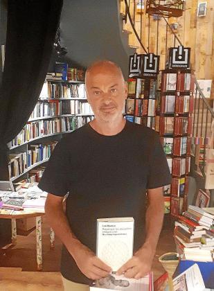 El escritor y filósofo Luis Montero, este martes en Palma.