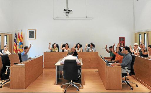 Imagen del pleno extraordinario celebrado en el Consell de Formentera.
