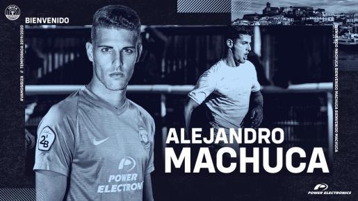 Machuca es el nuevo fichaje de la UD Ibiza