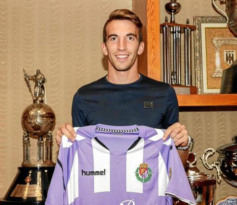 Javi Pérez, tras renovar el año pasado por el Valladolid Promesas.