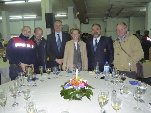 Pedro Soler, Paco Donate, Antoni Donaire, Aina Calvo, Manuel Àngel Nieto y Bartomeu Suau.