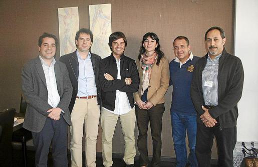 Alberto Torrens, David Bermejo, Jaime Samaniego, Carmen Alosete, Juanjo Barceló y Hugo Lassos.