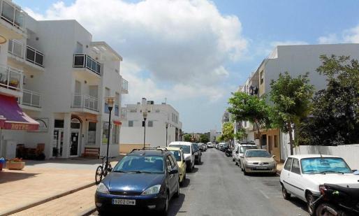 Imagen de archivo de viviendas en Formentera
