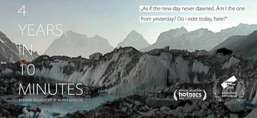 Una de las últimas confirmaciones es '4 Years in 10 minutes', un documental sobre la historia del primer alpinista serbio en coronar el Everest.