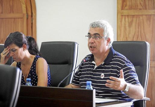 El concejal de Ara Eivissa, Josep Antoni Prats, presentó la moción para solicitar el plan en la zona ANEI.