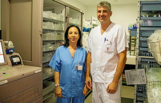 Paz Merino y Fernando Becerrill impulsan un sistema de integración de la medicación pionero en el mundo.