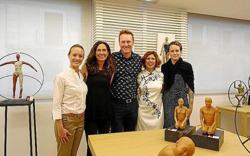 Diana Ruera, Catalina Borrás, Ariel de Rosso, Vicky Pérez y Lula Flórez.