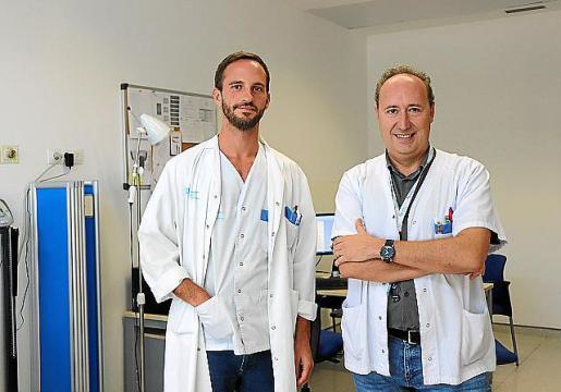 Desde marzo, más de 70 pacientes han sido atendidos por Santos.