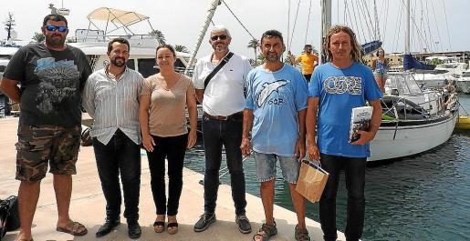 El proyecto está financiado por Save Posidonia Project.
