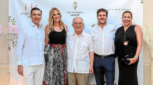 Esteban Mercer, Teresa Baca, Tomeu Català, Dominik Stauffenberg y Lucila Siquier.
