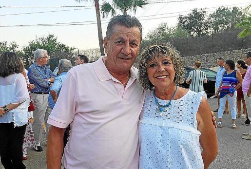 Isidro Serra y su esposa, Pilar González.