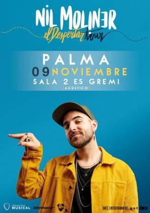 Nil Moliner en concierto en Es Gremi