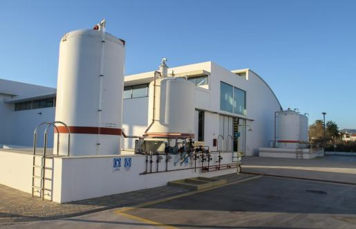 Desaladora del municipio de Santa Eulària.