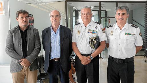 La Policía Nacional y la Delegación de Baleares trabajan conjuntamente para el control de extranjería