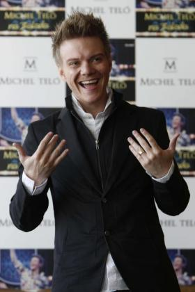 El cantante y compositor brasileño Michel Teló.