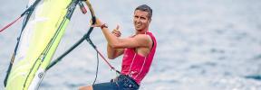 Mateo Sanz, sexto en el test olímpico