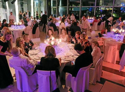 Imagen de archivo de la cena de la asociación celebrada el pasado verano