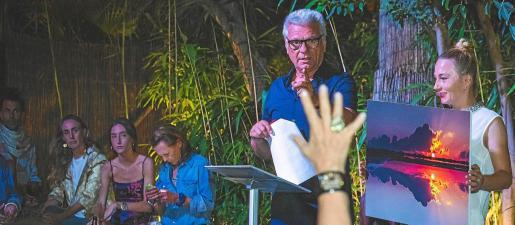 El evento organizado por la Fundación Perros Abandonados de Ibiza contó con una gran afluencia de público.