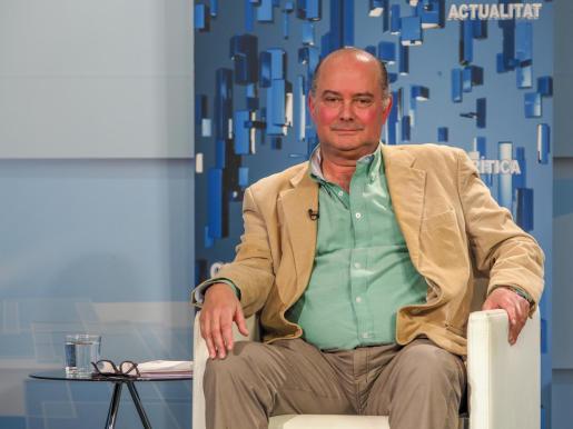 Jaime Diaz de Entresotos, coordinador de Vox en Ibiza y Formentera.