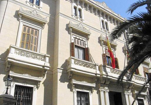 La delegación del Banco de España en Palma controla la actividad de todas las entidades bancarias que operan en Baleares.