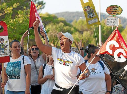 Este domingo se volverán a manifestar a las 19:30 horas en el Parque de la Paz