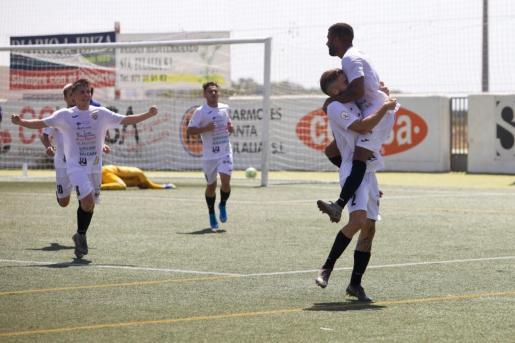 Imagen del partido entre la Peña Deportiva y el Real Oviedo B