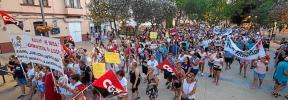 Unas 600 personas se manifiestan en Ibiza por la mejora de las condiciones de las 'kellys'