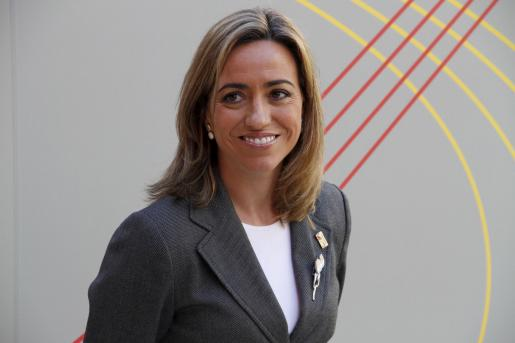 Carme Chacón ha sido elegida por los baleares como la política más seductora.