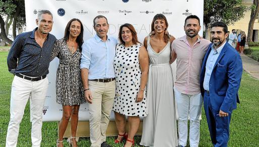 Stig Näs, Aurora Fernández, Anselmo Pérez, Alicia García, Neus Marí, Tomeu Pascual y Nene García.