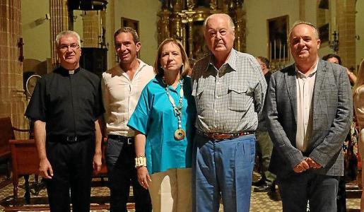 Nadal Bernat, Luis Rodríguez Baptista, Mercedes Baptista, Santiago Ibarra y Toni Mercant.