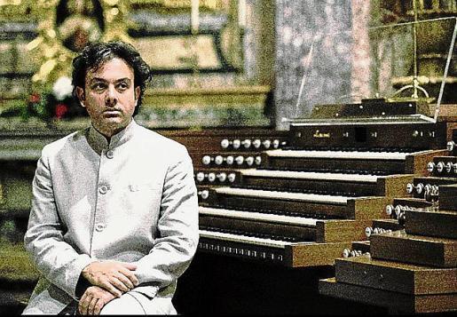 El organista italiano Giampaolo di Rosa actúa mañana.