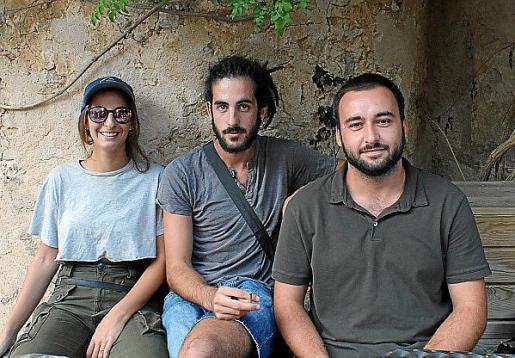 Ana Zazo, Jaime Barceló y Francesc Salvà.