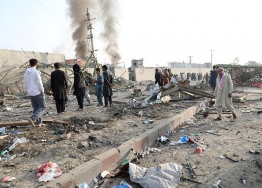 Los talibán han reivindicado el atentado en un mensaje en el que destacan que el objetivo eran fuerzas extranjeras.
