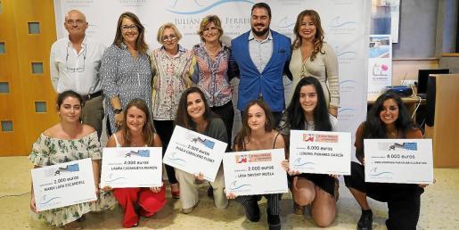 La entrega de premios tuvo lugar ayer por la tarde en Sa Residència-Casa para mayores de Jesús.