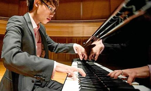 Uno de los participantes en el XXIII Concurso Internacional de Piano de Ibiza 2019.