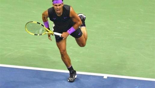 Rafa Nadal, en la final del US Open 2019.