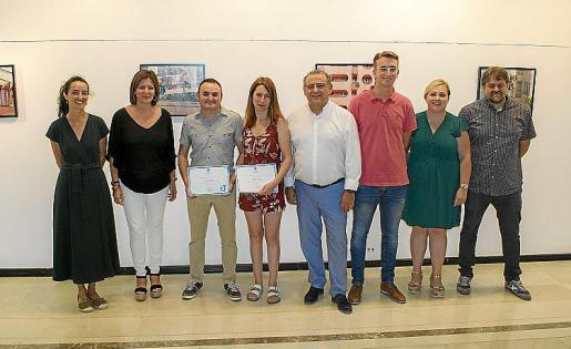 Silvia Prió, Nati Francés, Jaume Gaviño Morey, Alejandra Frontera Orleans, Alfonso Rodríguez Badal, Marc López, María Carmen Rojano y Joan Carles Oliver Torrelló.