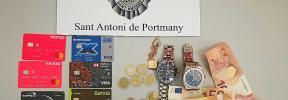 Detenido en Sant Antoni por el robo de dos relojes valorados en 25.000 €