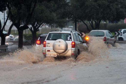 Inundaciones en Ibiza tras la tormenta del pasado 27 de agosto.