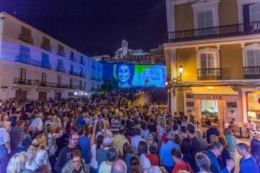 Una imagen del Ibiza Light Festival en 2018.