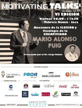 Motivating Talks en Fàbrica Ramis con la conferencia de Mario Alonso.