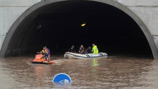 El temporal ha arrasado el sureste de España