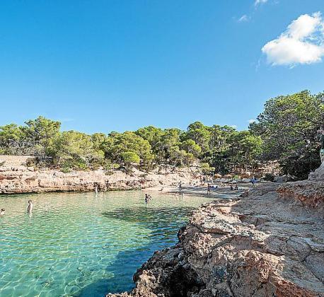 Una de las playas del municipio portmanyí.