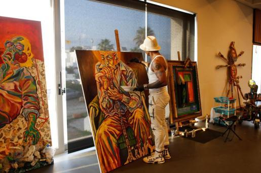 Ayer se inauguró la tercera edición de la Ibiza Art Fair.