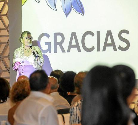 La gala benéfica que se celebró en la terraza del Aguas de Ibiza Gran Luxe Hotel.
