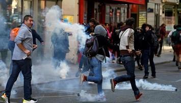 """Manifestación de los """"chalecos amarillos"""" en París - REUTERS / PASCAL ROSSIGNOL"""