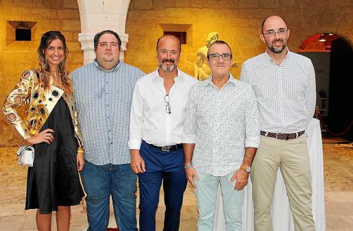 Julie Catherin Wolf, Joan Gaspar Vallori, Andreas Hug,Juan Pedro Yllanes y Pep Malagrava.
