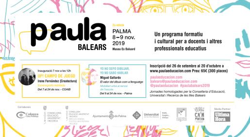 PAula Educación se celebra en el Museu Es Baluard.